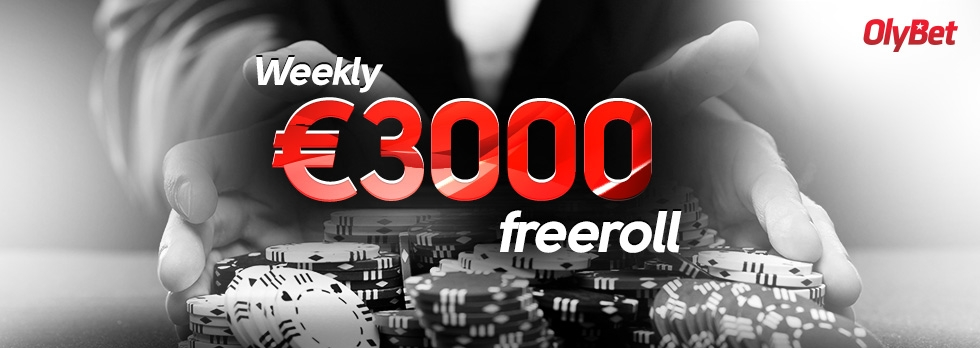 Weekly €3000 Freeroll