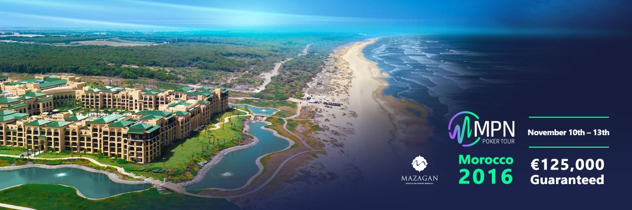 MPN Poker Tour Morocco 10 – 13 November