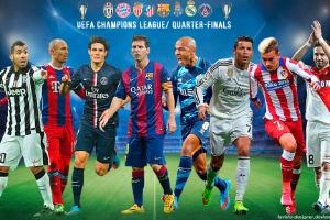 Четверть-финалы Лиги Чемпионов - 1-ый тур