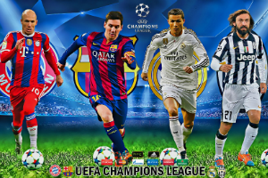 Champions League finalists will be revealed today and tommorrow!