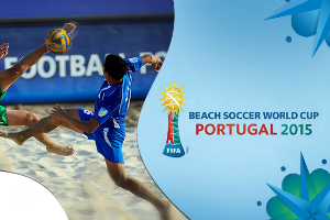 FIFA Beach Soccer World Cup 9-19th of July in Portugal