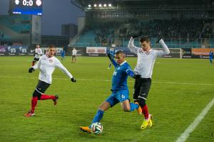 Третий тур чемпионата России по футболу