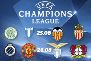 Champions League playoffs 2nd leg matches