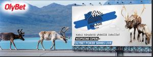 Kopsoni Open pokeriturnaus Olympic Kasinossa Tallinnassa