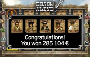 The biggest win ever in Estonian casino history – almost 300 000 eur!