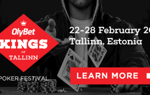 Покерный фестиваль Kings of Tallinn вновь привлечет в Эстонию сотни игроков