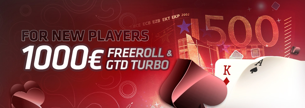 €1000 New Player Freeroll