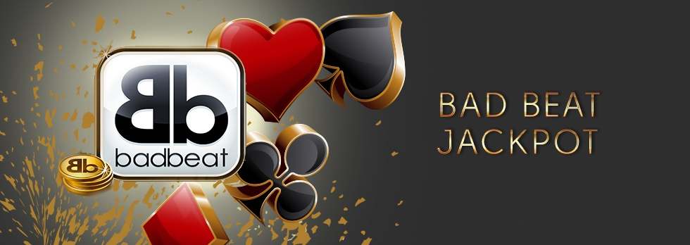 Gauk  savo didžiausią pokerio laimėjimą su mūsų Bad Beat Jackpot'u