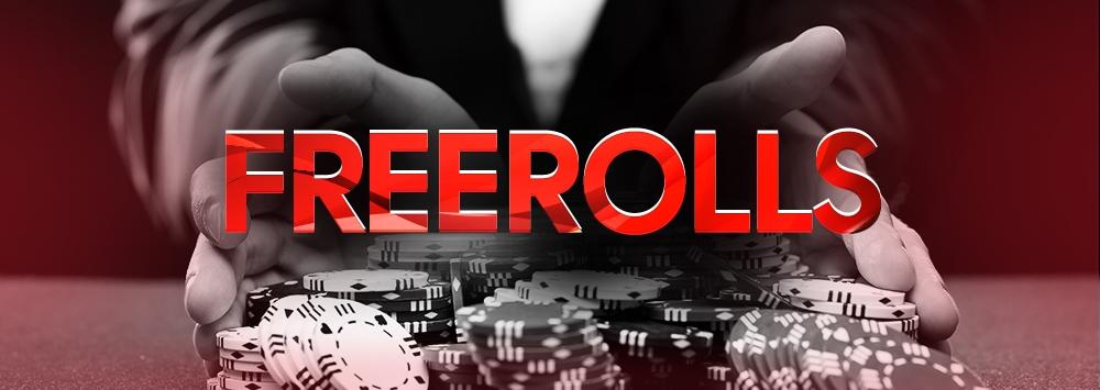 €40,000 Freerolleja joka kuukausi!