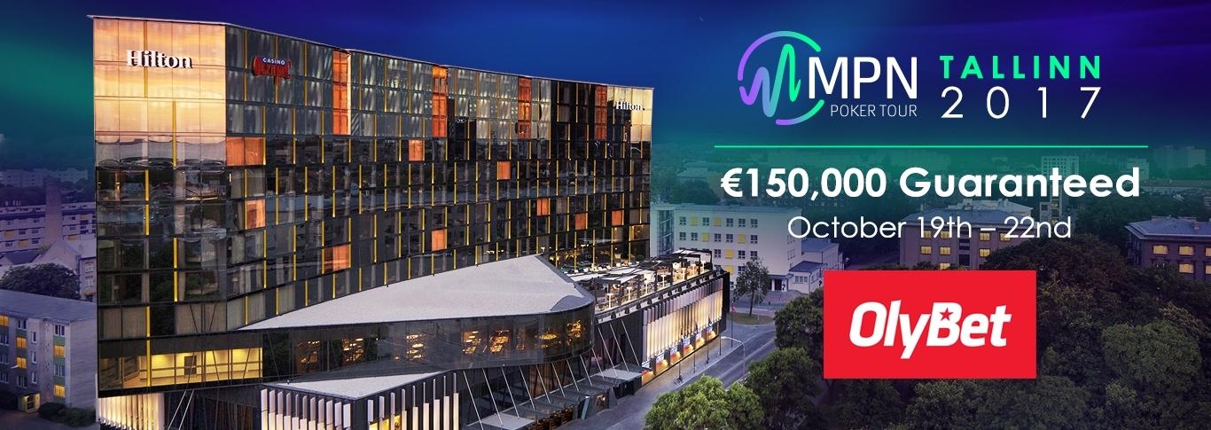 MPN Tallinn 2017 - 150 000 EUR i garanterat prispott 19 - 22 oktober