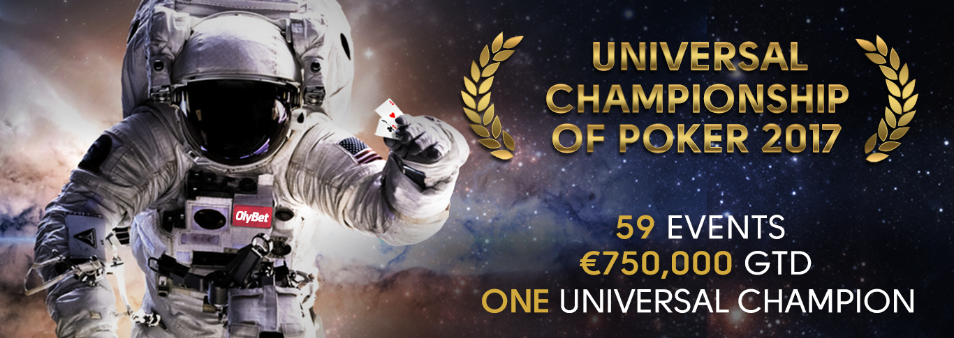 Universal Championship of Poker (UCOP) September 10th – 24th