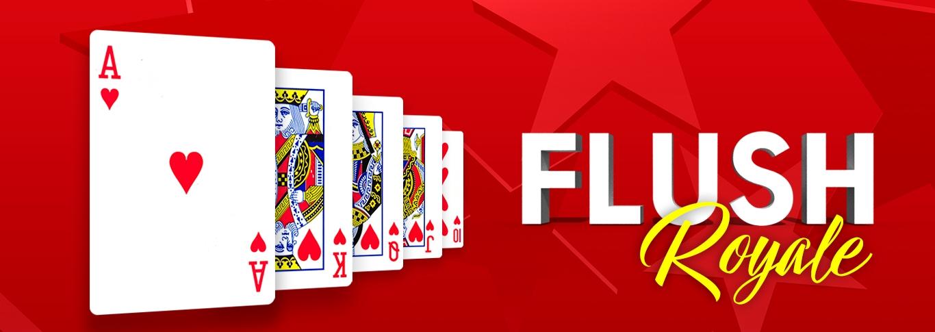 Royal Flush - Få en Royal Flush, vinn ett paket på 1500 € på MPNPT!