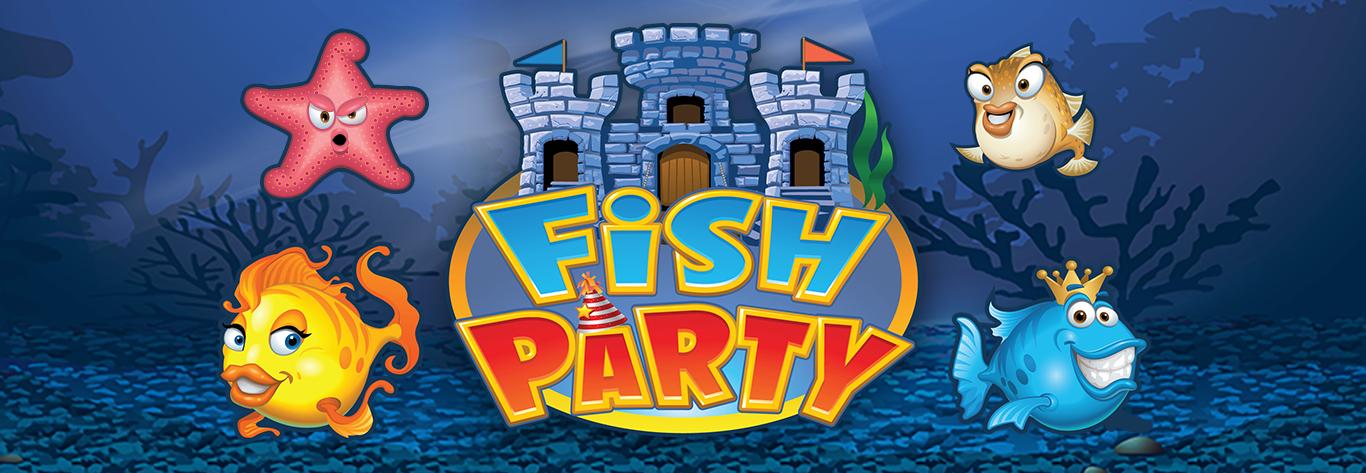Fish Party Progressiva Jackpot Sit and Go's
