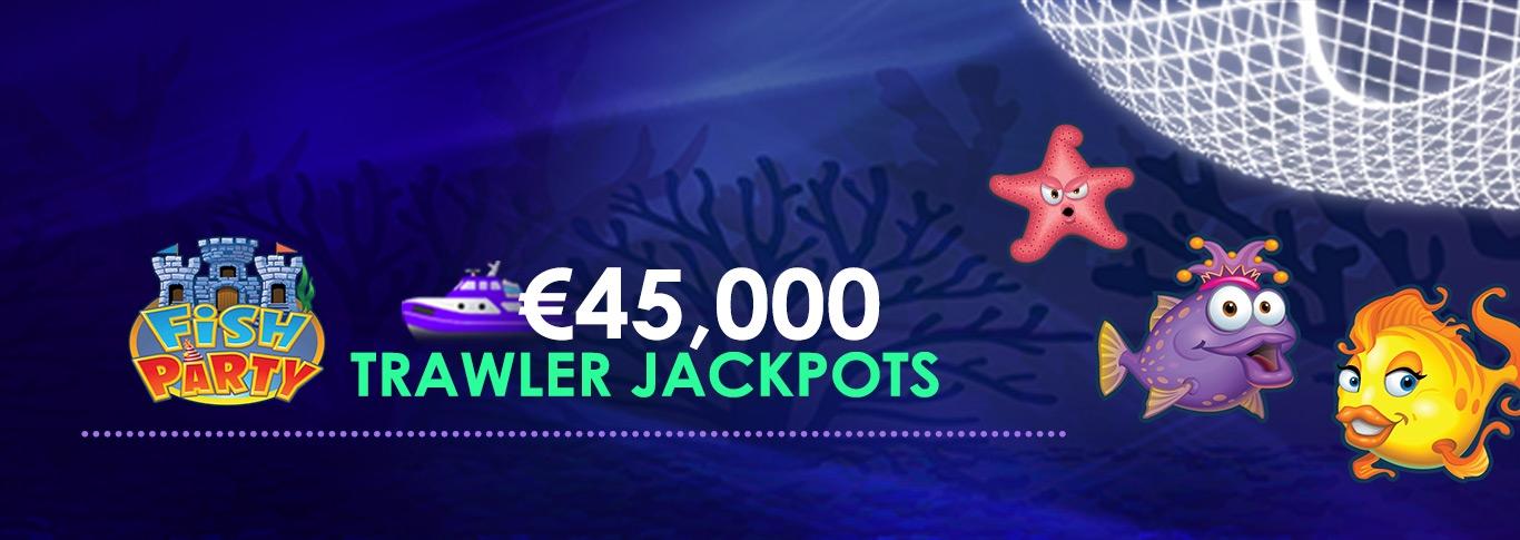 Джек-пот Fish Party Trawler €45 000, 1- 31 октября