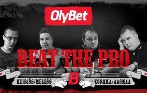 Leia artiklist kolmapäevase Beat the Pro freerolli parool