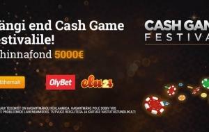 1. novembri õhtul OlyBet pokkeritoas 5000 € auhinnafondiga freeroll!