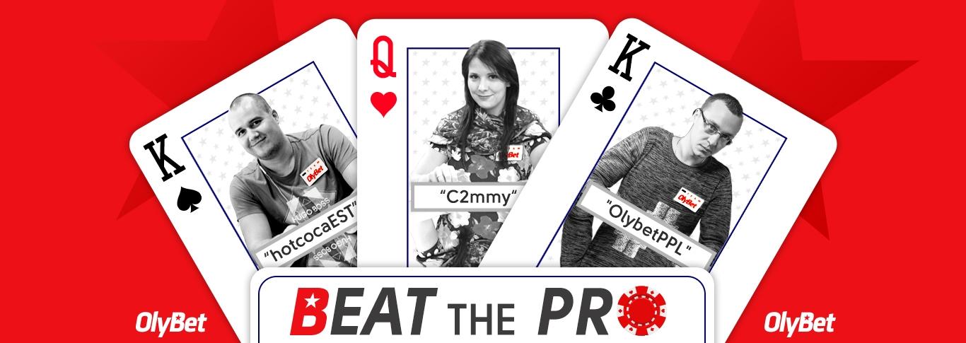Beat the Pro - elimineeri vastane ja teenid preemia!