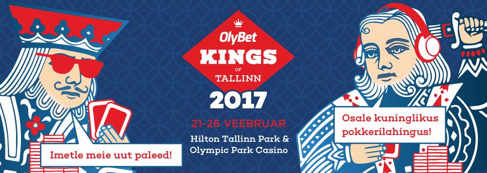 OlyBet Kings of Tallinn pokkerifestival tuleb taas!